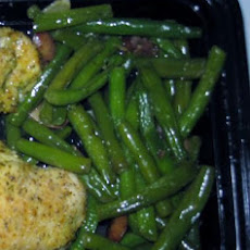Green Beans with Mushrooms and Sage