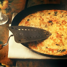 Green Tomato and Leek Frittata