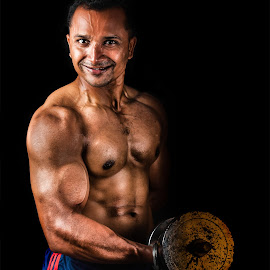 Hit The Gym by Anurag Das - People Portraits of Men