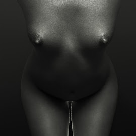 Luft by Maxim Malevich - Nudes & Boudoir Artistic Nude ( breast, nu, body, girl, nude, black and white, woman, akt, artistic nude, tits,  )