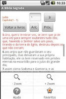 Screenshot of Holy Bible Joao de Almeida