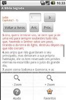 Screenshot of Holy Bible Joao de Almeida