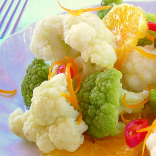 Spicy Cauliflower Citrus Salad Pressure Cooker