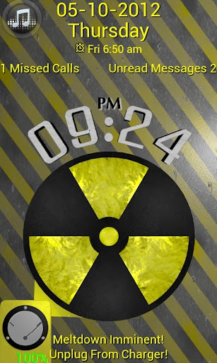 Radiation Yellow Go Locker