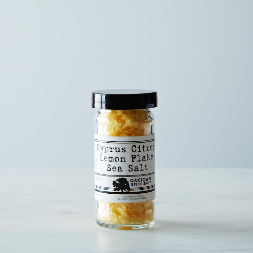 Cyprus Citron Flake Sea Salt