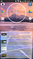 Screenshot of Simple RSS Widget