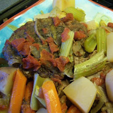 Mama's Amazing Pot Roast (Crock Pot)