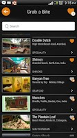 Screenshot of Goa travel guide map nightlife
