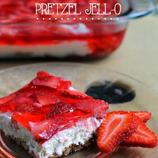Strawberry Pretzel Jell-O