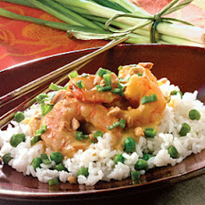 Sweet Curried Shrimp