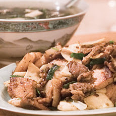 Lily's Twice-Cooked Pork