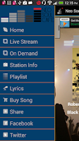 Screenshot of Neo Soul Cafe