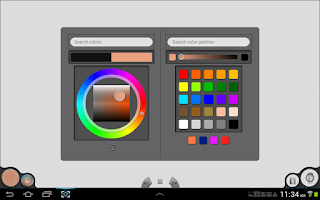 Screenshot of Infinite Painter Free