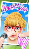 Screenshot of Princess Nose SPA -girls games
