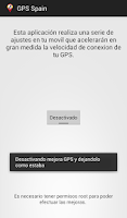 Screenshot of Gps Spain - España