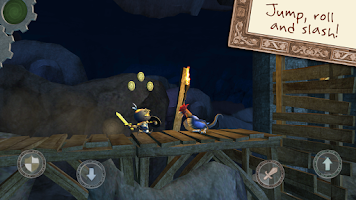 Screenshot of Wind-up Knight