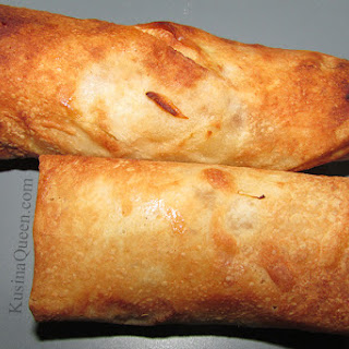 Healthier Fried Turon (Fried Banana Rolls)