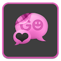 GO SMS Pro Girly Theme icon