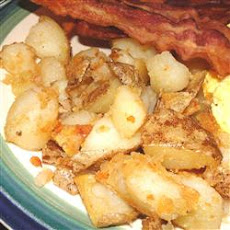 Diner-Style Baked Potato Home Fries