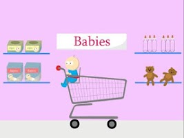 Screenshot of Toddler Shopping