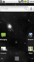 Screenshot of Starfield 3D Live Wallpaper