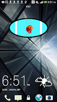 Screenshot of Football Clock Widget