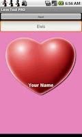 Screenshot of Love Compatibility Test +