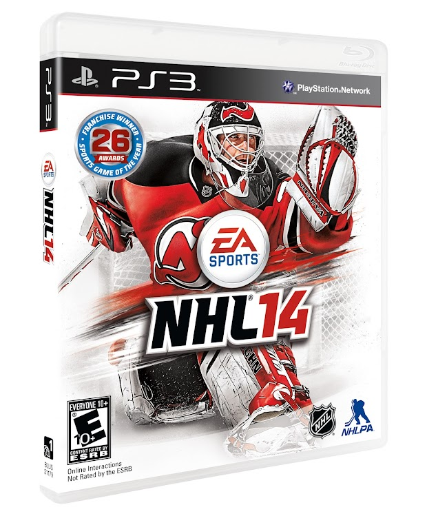 New Jersey Devils legend Martin Brodeur to grace the cover of NHL 14