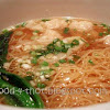 Wantan Noodles With Prawn Wanton