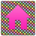 GLX: Chocolate Rainbow Dots icon