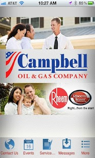 Campbell Oil and Gas Company - screenshot