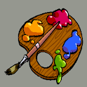 Paint for children icon