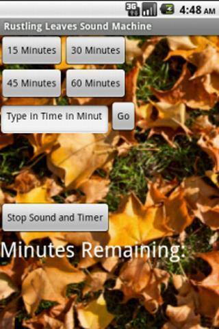 Leaves Rustling Sound Machine