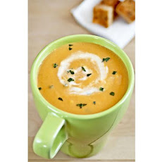 Creamy Carrot & Orange Soup