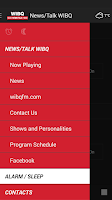 Screenshot of News/Talk WIBQ