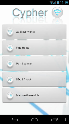 Cypher - WIFI Security Auditor
