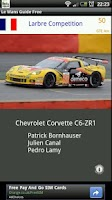 Screenshot of Le Mans Guide Free