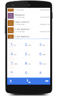 Screenshot of ExDialer New Style