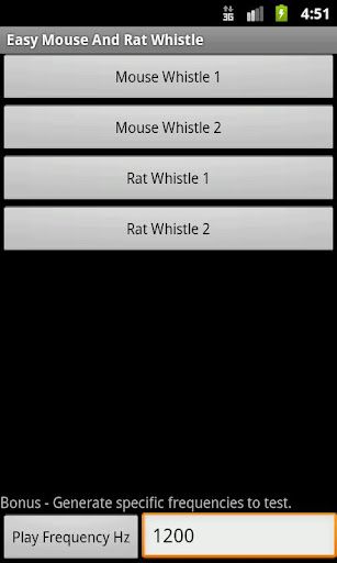 Easy Mouse And Rat Whistle