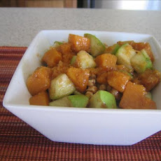 Roasted Butternut, Apple & Pecan Salad
