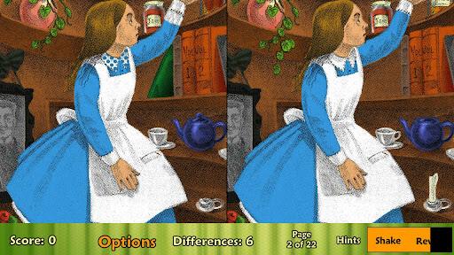 Alice in Wonderland Pic Puzzle