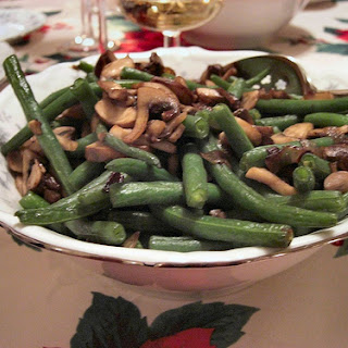 Mushrooms and Green Beans recipe – 176 calories