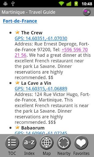 旅遊必備APP下載|Martinique - FREE Guide & Map 好玩app不花錢|綠色工廠好玩App