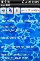Screenshot of Star GameBoy Color