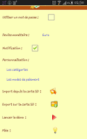 Screenshot of Easy Budget Pro (Français)