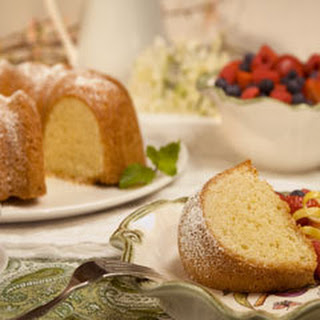 Golden Citrus Cake