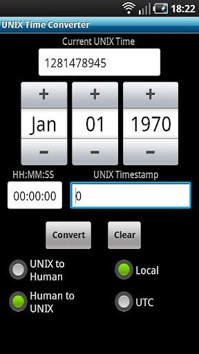多人下載使用APP工具UNIX Time Converter!app開發團隊經典作品
