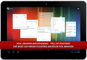 Screenshot of Floating Apps (multitasking)