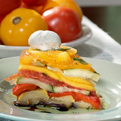Jefferson's Vegetable Layer Cake