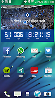 Screenshot of HSV Bundesliga Uhr
